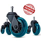 STEALTHO Office Chair Caster Wheels-Highlighted Features