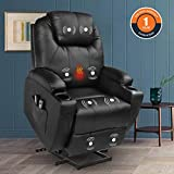 Magic Union Power Lift Chair Electric Recliner Faux Leather...