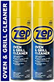 Zep Heavy-Duty Oven and Grill Cleaner ZUOVGR19 (2-Pack) Dissolves...