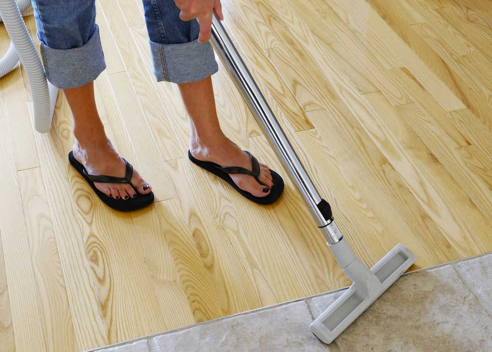 Get Wax Off Hardwood Floors
