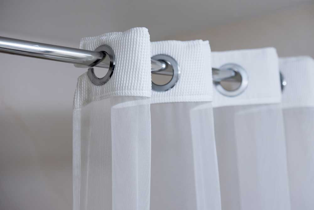 Install Shower Curtain Rod