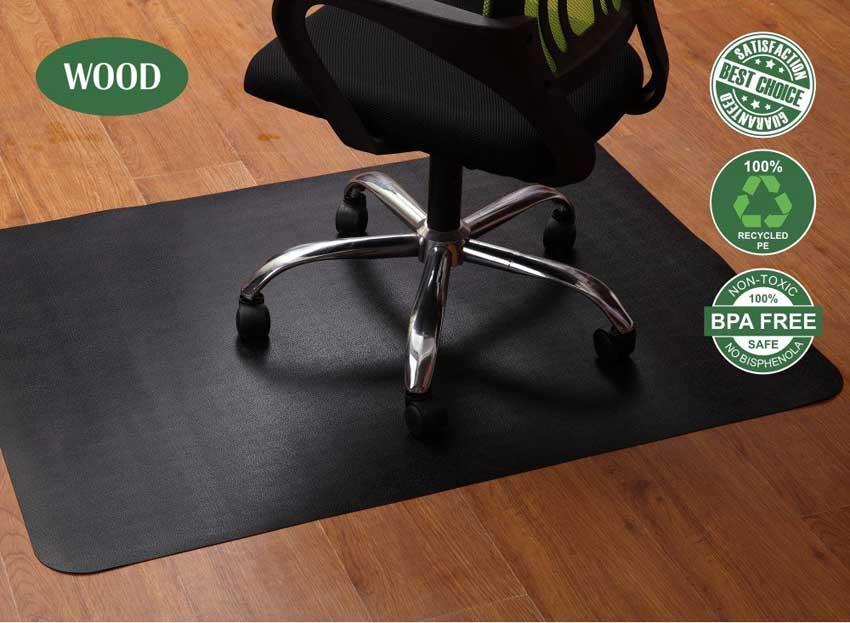 Chair Mat for Hardwood and Tile Floor