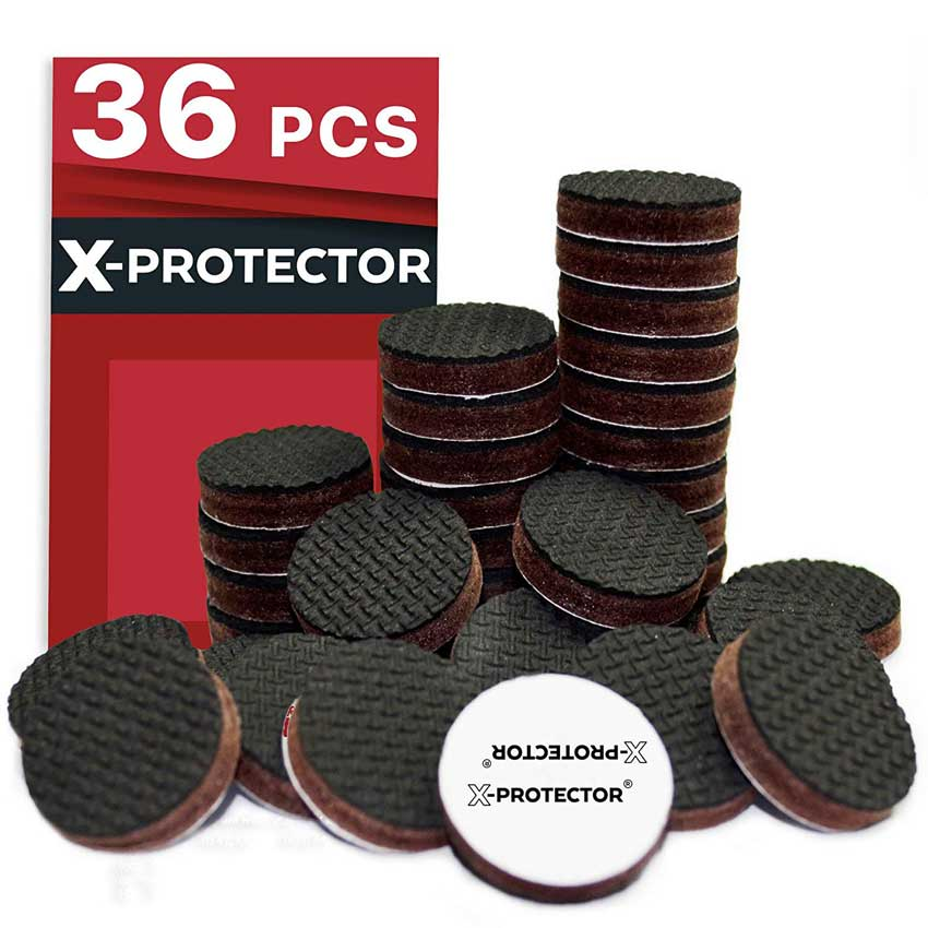 Floor Protectors for Keep in Place Furniture Stoppers