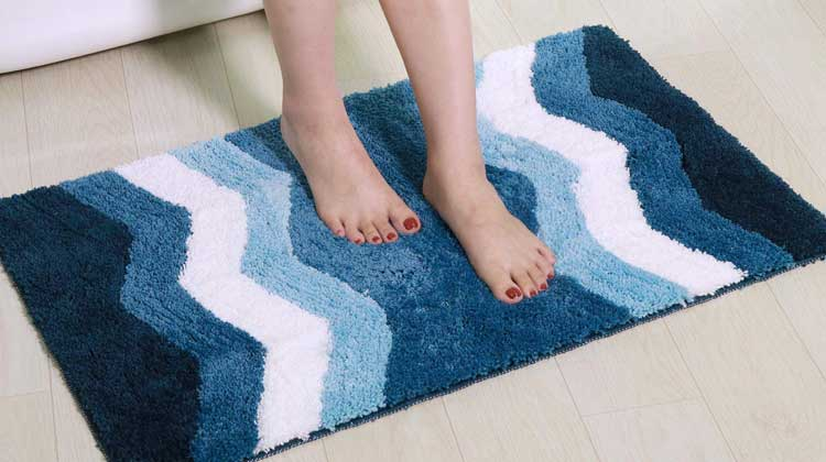 Bathroom Rugs Washing tips