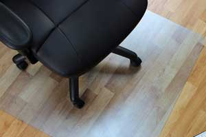 Rectangular Chair Mat for Hard Floors