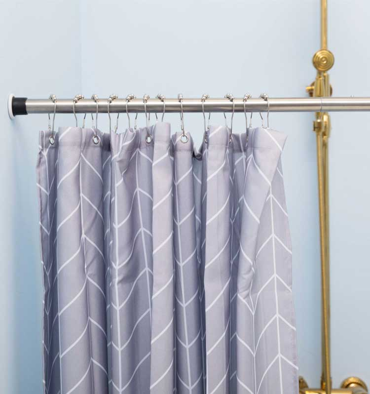 ALLZONE 28-41Inch Shower Curtain Rod