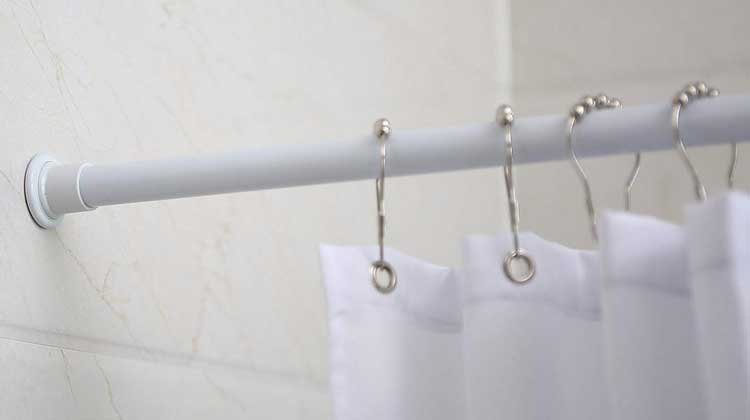 ALLZONE Shower Curtain Rod