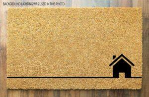 Coco Coir Doormat with Heavy-Duty