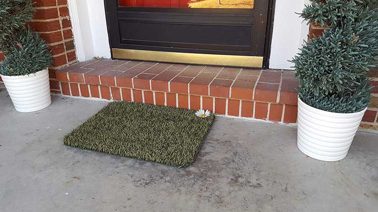 GrassWorx Clean Machine Daisy Doormat
