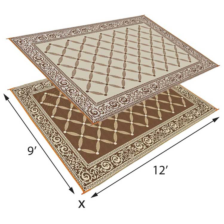Reversible Mats 119127 Outdoor Patio