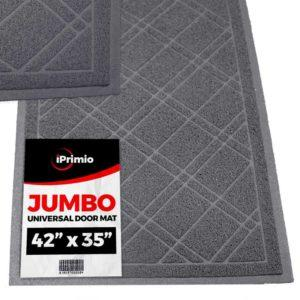 SlipToGrip Universal Gray Door Mat