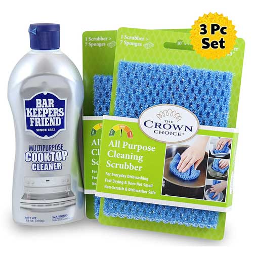 BAR KEEPERS FRIEND Cooktop Cleanser