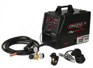 LONGEVITY Migweld 140-140 Amp - Best Gasless Mig Welder for Beginners
