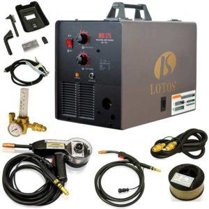 LOTOS MIG175 175AMP Mig Welder - Best Wire Feed Welder Under 500
