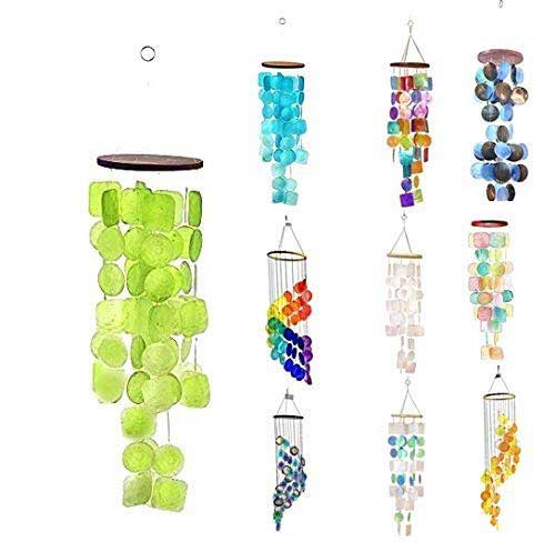 Bella 2077 Capiz Wind Chime