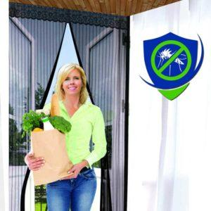 sentry magnetic screen door