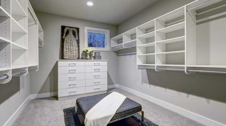 Attach Closet Shelves to Wall