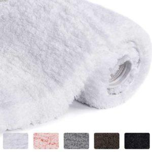 Lifewit Bathroom Rugs - Non-Slip Soft Shower Rug