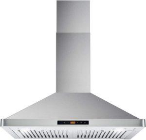 Cosmo-63175S-30-in-Ducted / Ductless Convertible - Top Rated Wall Mount Range Hood