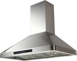 EKON- Ultra quiet Wall Mount Range Hood