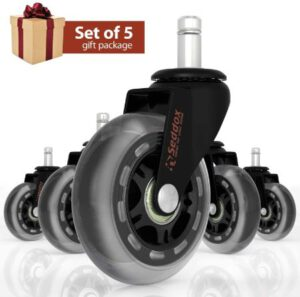 Best Office chair casters for hardwood floors