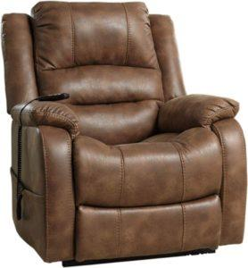 Ashley Yandel Top Power Lift Recliner - Best power reclining sofa