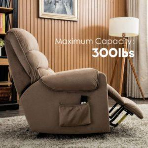 Heavy Duty Reclining Mechanism Living Room Sofa Chair