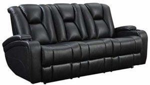 Delange Reclining Electric Power Sofa