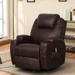 Esright PU Leather Power Lift Electric Recliner for Elderly