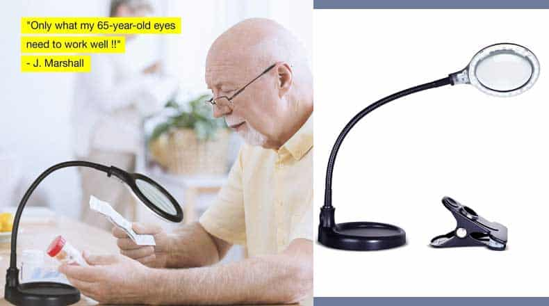 Best reading lamp for elderly