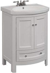 RunFine RFVA0069W Vanity - Best Vanities for Small Bathrooms