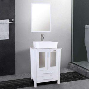 "Eclife 24"" - High quality bathroom vanities with sink"