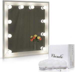 LED Vanity Mirror Lights with Dimmable Light Bulbs