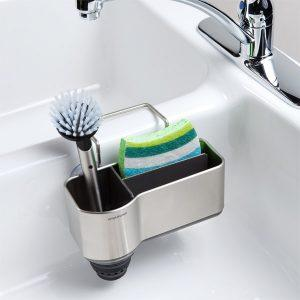 suction sink caddy