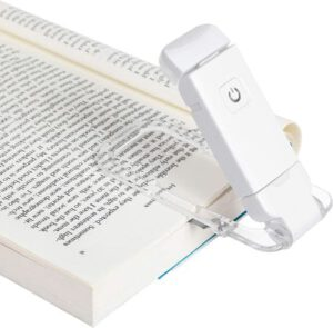 LED Clip on Book Lights for Reading in Bed