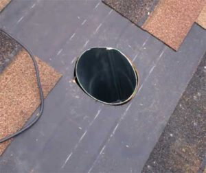How to Install a Range Hood Vent Through Roof