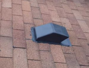 how to install a range hood vent through ceiling