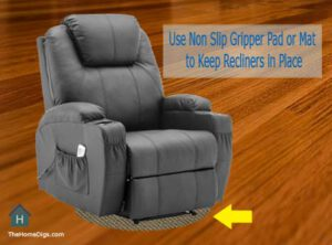 How to Keep a Recliner from Sliding on Hardwood Floors