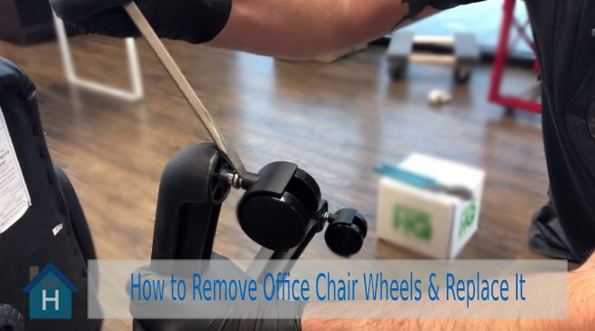 How to Remove Office Chair Wheels