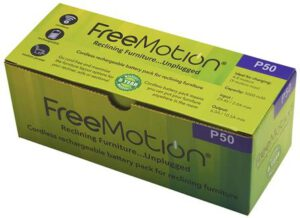 FREEMOTION 5000 mAh best battery pack for reclining sofa