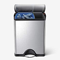 Best Dual Compartment Recycling Kitchen Step Trash Can