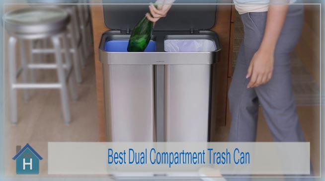 Best Dual Compartment Trash Can